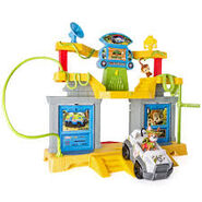Monkey temple playset 1