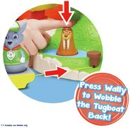 PAW Patrol Wally the Walrus Weebles Toy