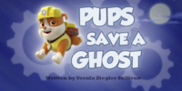 Pups Save a Ghost