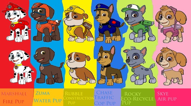 File:Paw Patrol Team.png