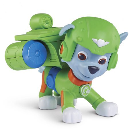 File:PAW Patrol Air Rescue Rocky, Pup Pack and Badge.JPG