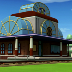 The Train Station.
