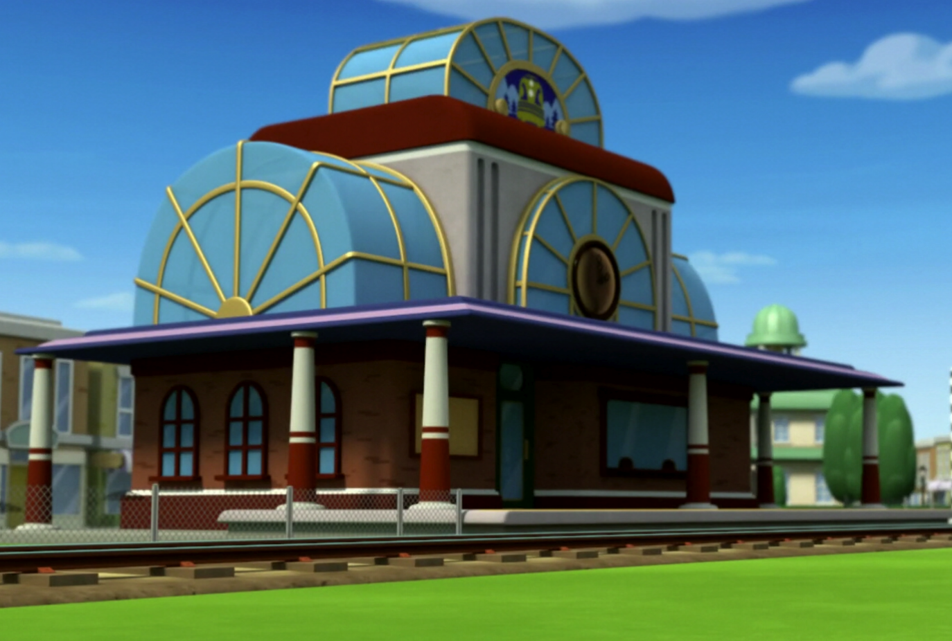 Train Station Paw Patrol Wiki Fandom Powered By Wikia