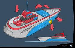 PAW Patrol Sea Patroller Possible Design