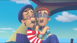 PAW Patrol Cap'n Turbot Captain and Francois 1