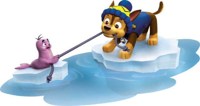 File:PAW Patrol Chase with the Baby Walrus Pup Winter 1.png