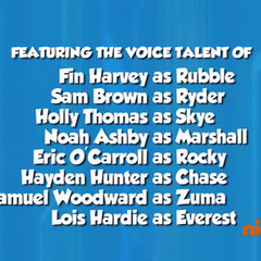 Dubbing cast credits (part 1) from Season 3 on Nick Jr.