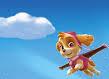 Skye flying
