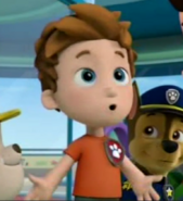 Alex is apart of the PAW Patrol!