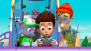 PAW Patrol 315 Scene 20 Ryder, Rocky, and Cap'n Turbot Captain
