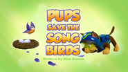 Pups Save the Songbirds (HQ)
