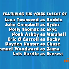 Dubbing cast credits (part 1) from Season 2 Episode 6 to Season 2 Episode 13 on Nick Jr.