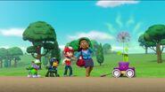 PAW Patrol Stinky Flower Scene 26