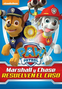 File:PAW Patrol Marshall and Chase On the Case! DVD Latin America.jpg