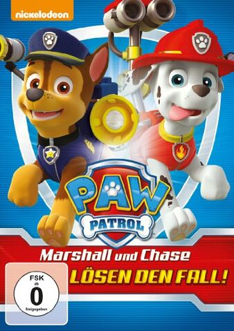 File:PAW Patrol Marshall and Chase on the Case! DVD Germany.jpg