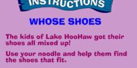 Whose Shoes