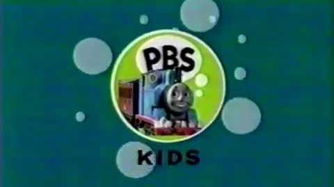 PBS Kids ID - Thomas & Friends (2004) OFFICIAL RARE