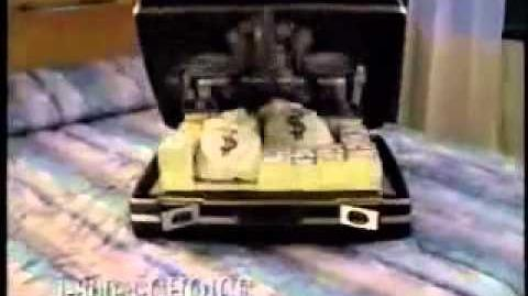 Choice Hotels commercial with Batman Suitcase