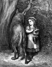 Wolf and Little Red Riding Hood