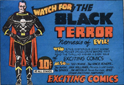 Black Terror First Appearance