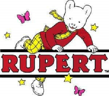 Image result for Rupert The Bear