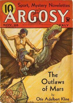 Argosy Outlaws of Mars