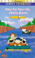 Race for Your Life Charlie Brown VHS