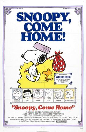 Snoopycomehomeposter