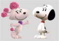 Snoopy and Fifi in love.png