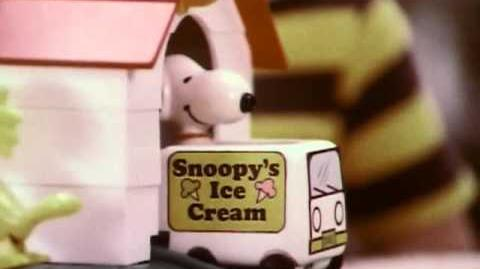 Hasbro - Romper Room - The Snoopy Dog House w Woodstock - Vintage Commercial - 1978