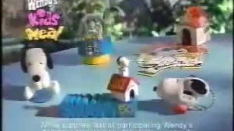 Wendy's Ad- Snoopy (2000)