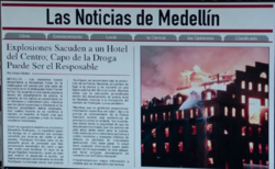 3x13 - Colombian newspaper