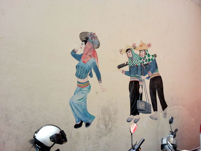 File:Women Construction Workers Mural, Magazine Road, George Town, Penang.jpg