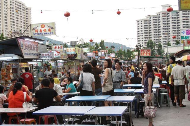 File:Gurney Drive hawker food, George Town, Penang.jpg