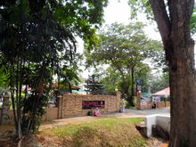 St. George's Girls' School entrance, Macalister Road, George Town, Penang