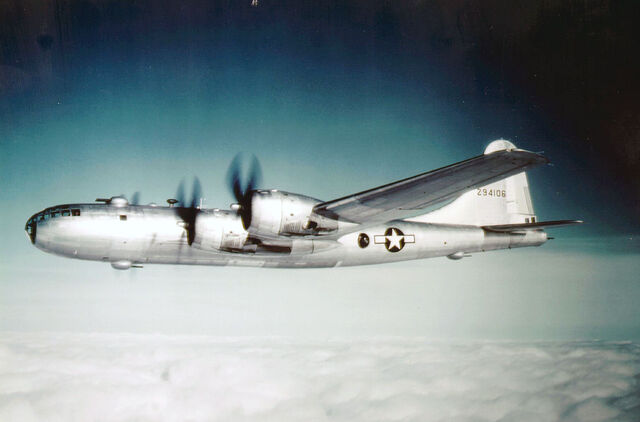 File:United States Army Air Force B-29 bomber.jpg