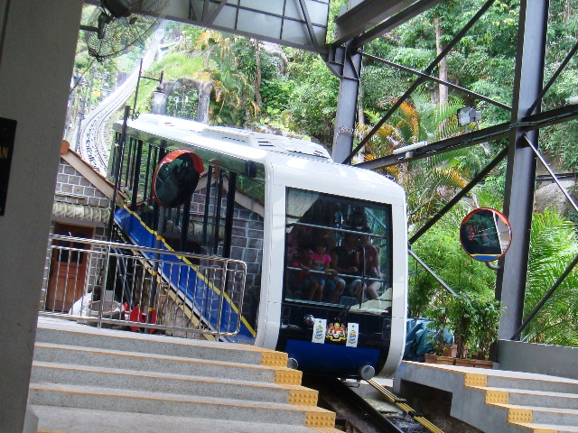File:Funicular to the top of the Penang Hill, Georgetown, Penang, Malaysia.JPG