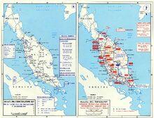 Malayan Campaign, World War 2