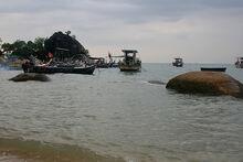 Batu Ferringhi rock, Penang