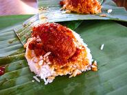 Penang nasi lemak