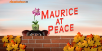 Maurice at Peace