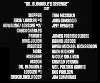 Dr. Blowhole's Revenge Cast