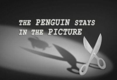 The Penguin Stays In the Picture title