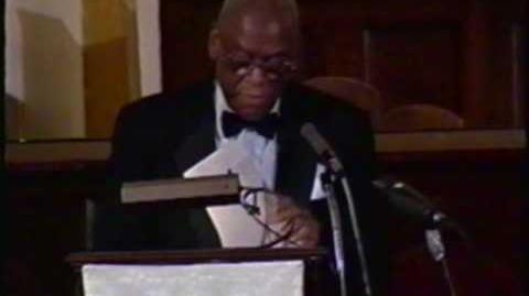 William Warfield recites 3 Paul Laurence Dunbar poems