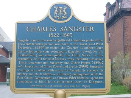 Sangsterplaque