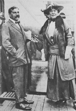 Sir Edgar & Lady Leonora Speyer circa 1921