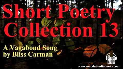 A Vagabond Song poem by Bliss Carman Short Poetry Collection 13 Free Audio Poem