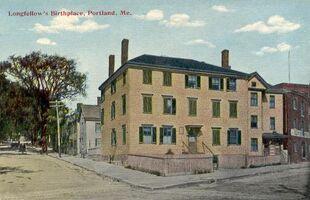 Longfellow's Birthplace, Portland, ME