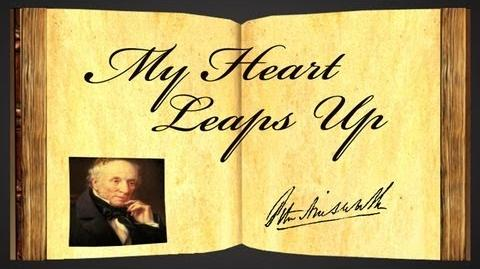 My Heart Leaps Up by William Wordsworth - Poetry Reading-1