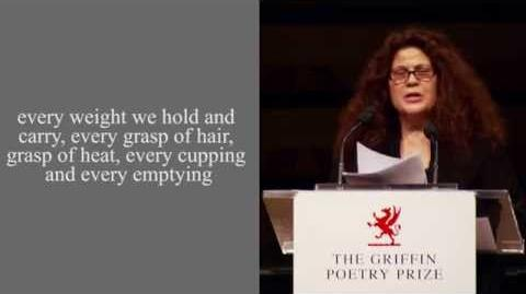 Poet Anne Michaels reads from Correspondences